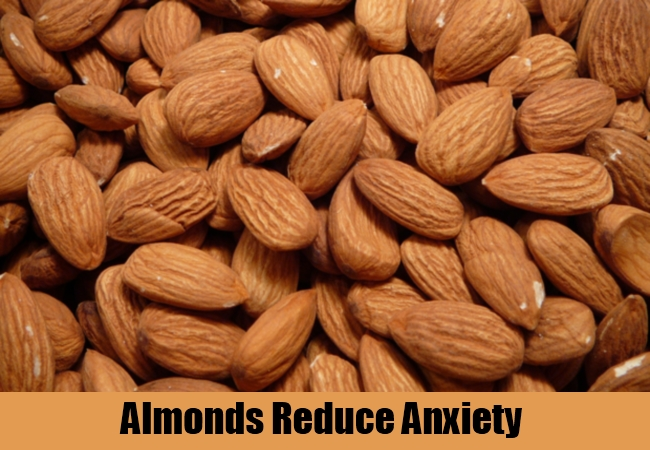 Almonds Reduce Anxiety