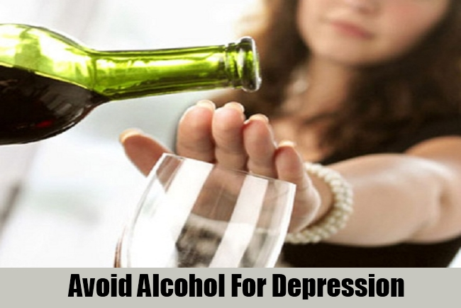 Avoid Alcohol For Depression