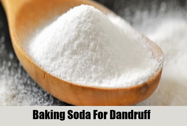 Baking Soda For Dandruff