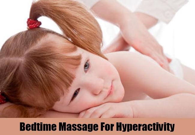 Bedtime Massage For Hyperactivity