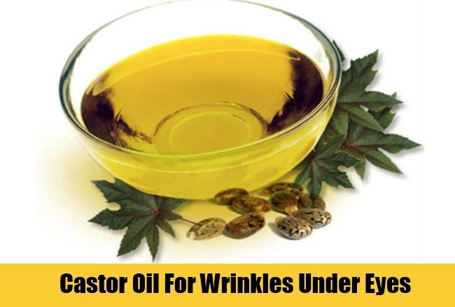 Castor Oil For Wrinkles Under Eyes