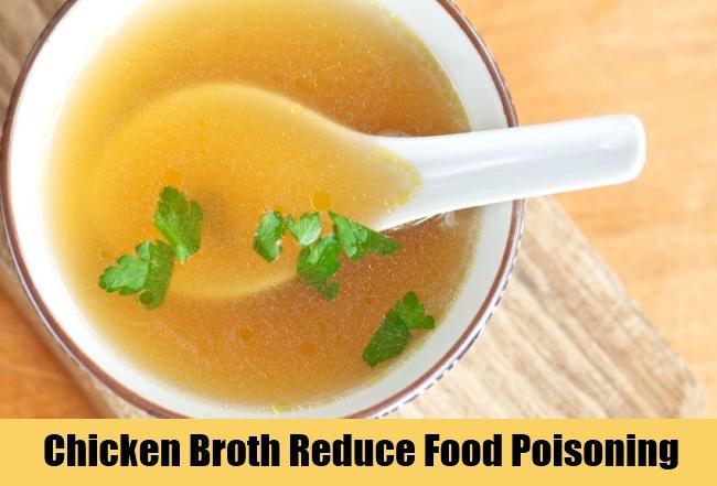 Chicken Broth Reduce Food Poisoning