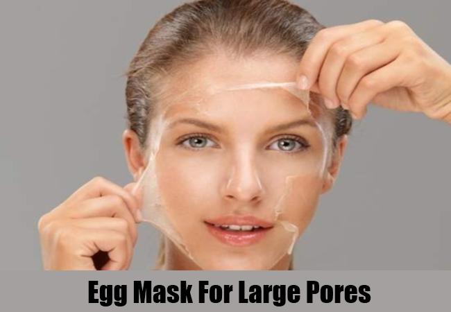 Egg Mask For Large Pores