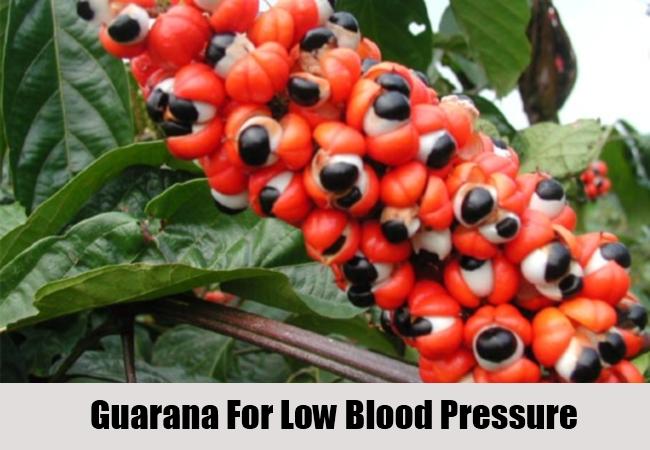 Guarana For Low Blood Pressure