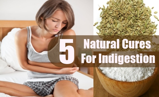 Natural Cures For Indigestion