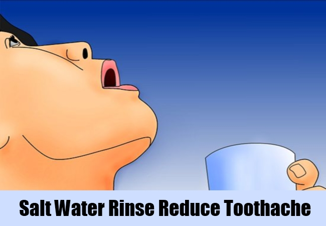 Salt Water Rinse Reduce Toothache
