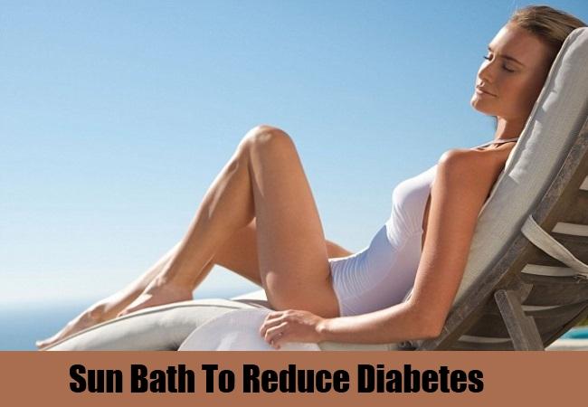 Sun Bath To Reduce Diabetes