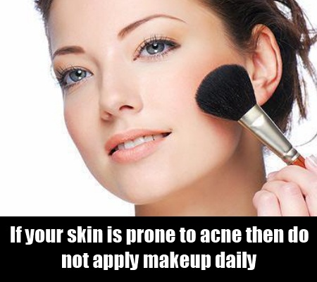 Use Makeup Occasionally