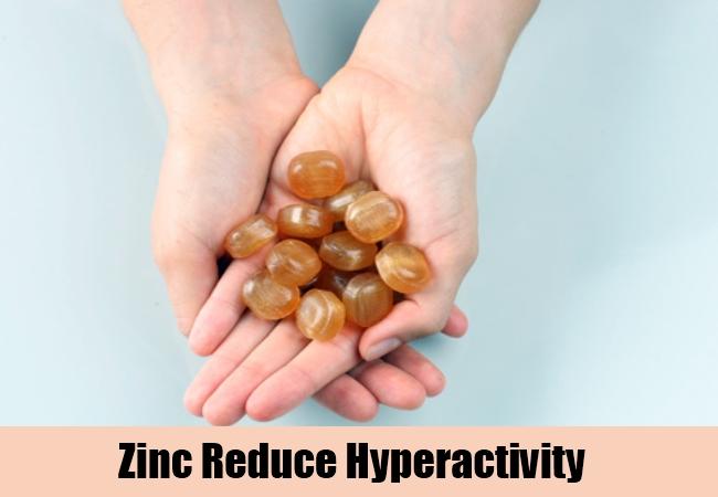 Zinc Reduce Hyperactivity