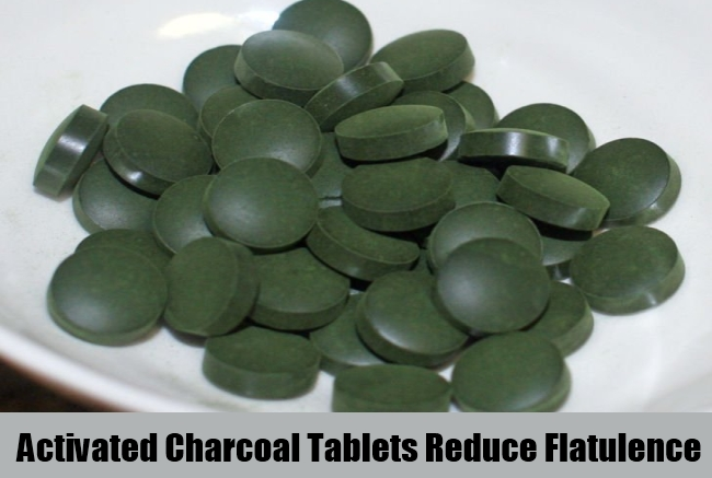 Activated Charcoal Tablets Reduce Flatulence