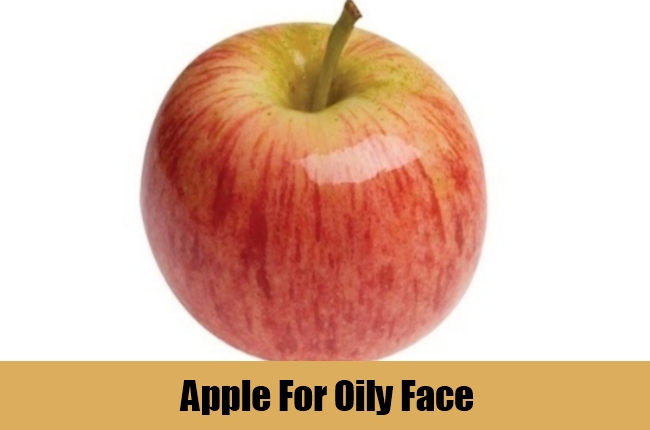 Apple For Oily Face