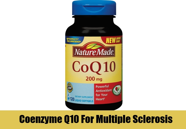 Coenzyme Q10 For Multiple Sclerosis