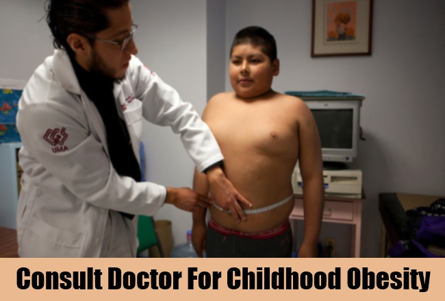 Consult Doctor For Childhood Obesity