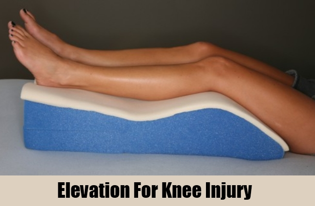 Elevation For Knee Injury