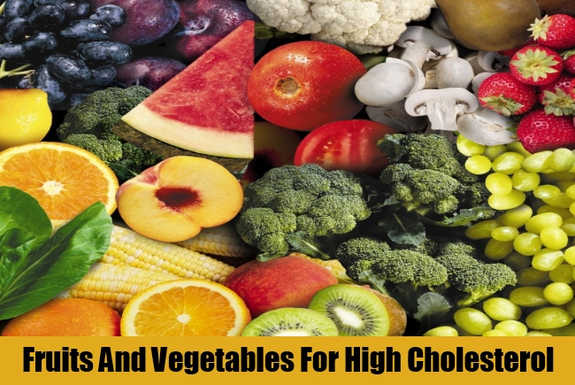 Fruits And Vegetables For High Cholesterol