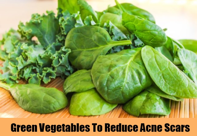 Green Vegetables To Reduce Acne Scars