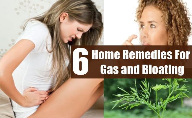 Home Remedies For Gas and Bloating