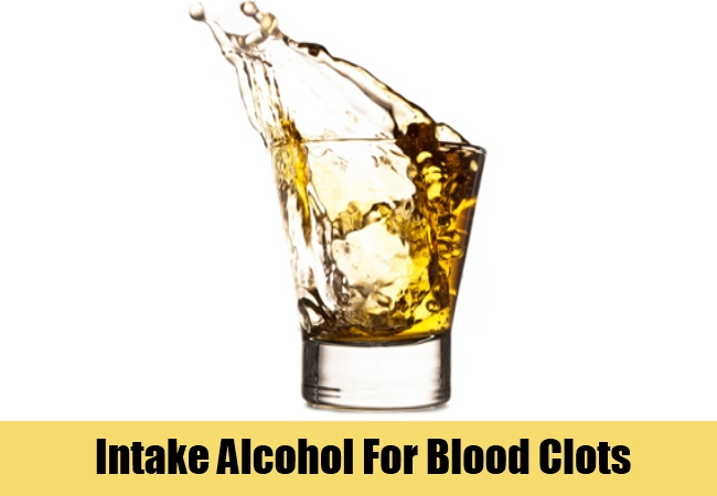 Intake Alcohol For Blood Clots
