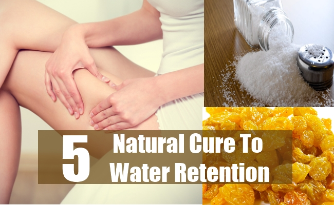 Natural Cure To Water Retention
