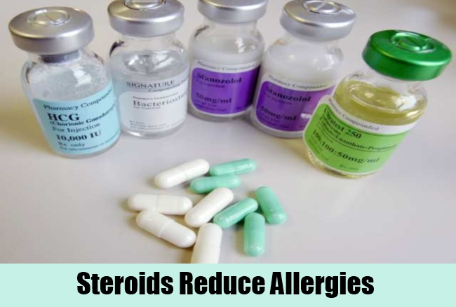 Steroids Reduce Allergies
