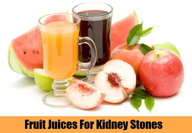 Fruit Juices For Kidney Stones