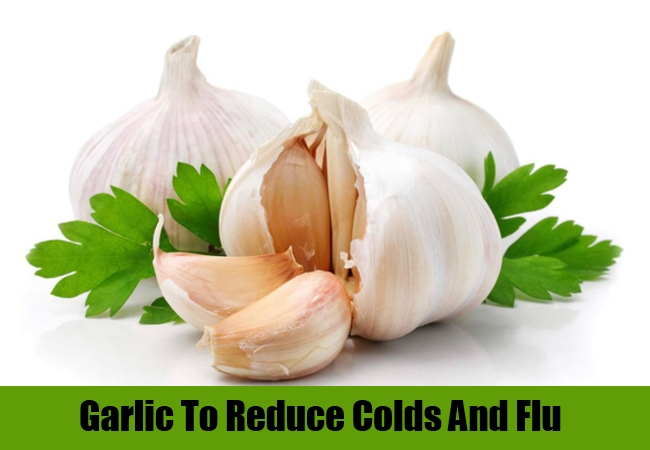 Garlic To Reduce Colds And Flu