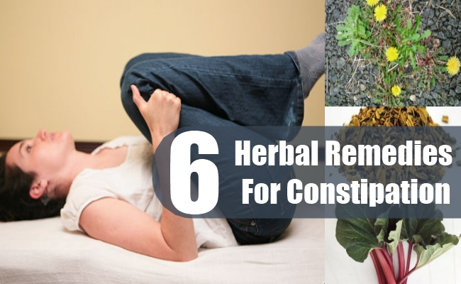 Herbal Remedies For Constipation