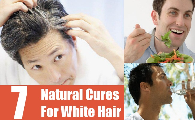 Natural Cures For White Hair