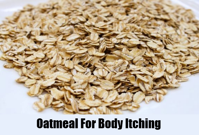 Oatmeal For Body Itching