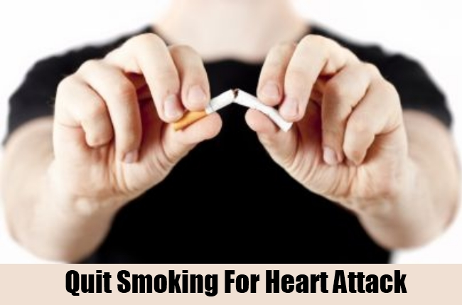 Quit Smoking For Heart Attack