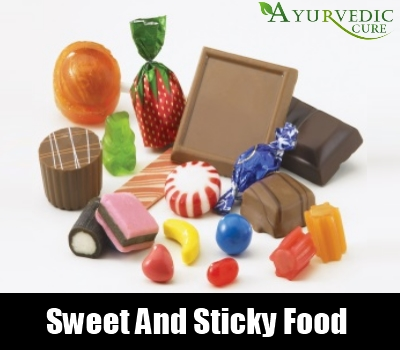Sweet And Sticky Food