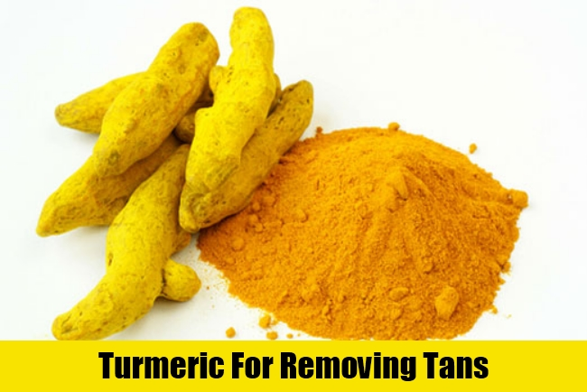 Turmeric For Removing Tans