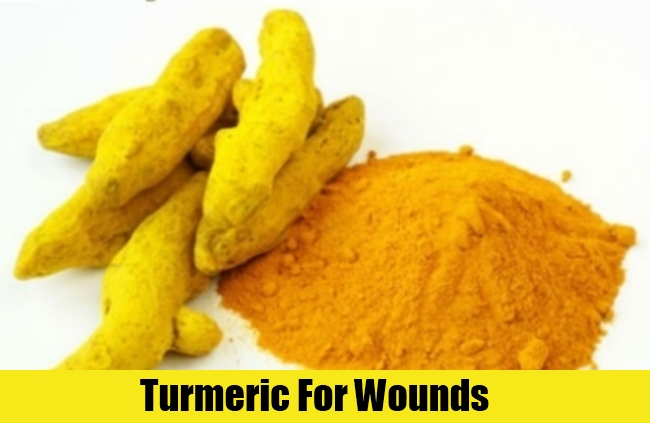 Turmeric For Wounds