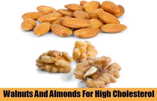 Walnuts And Almonds For High Cholesterol