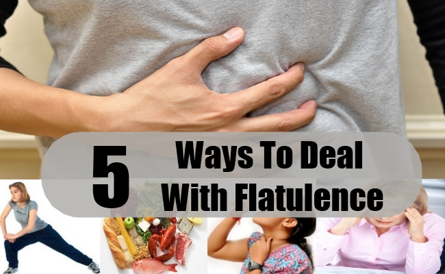 Ways To Deal With Flatulence
