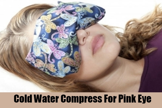 Cold Water Compress For Pink Eye