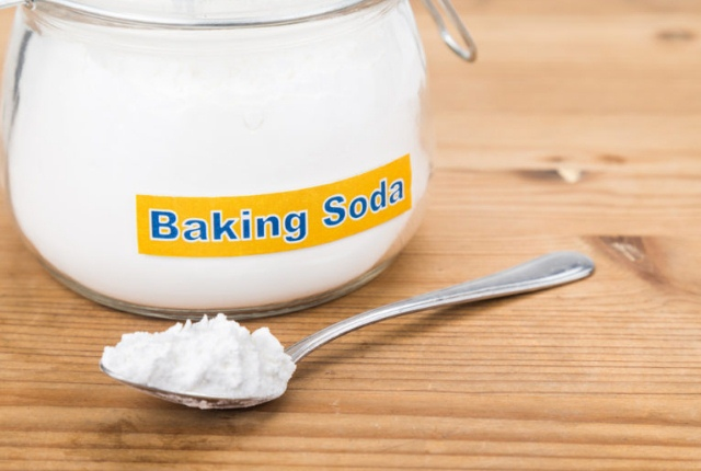 Form A Paste Of Baking Soda
