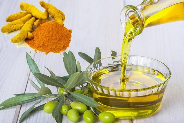 Olive Oil Turmeric Wrap