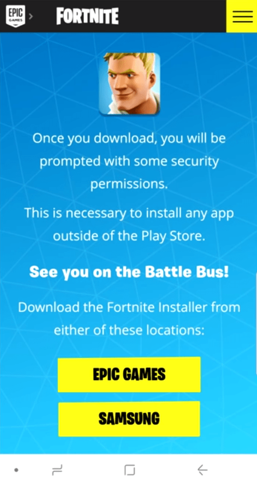 How To Download Fortnite In India — AndroidVille | Ayusch