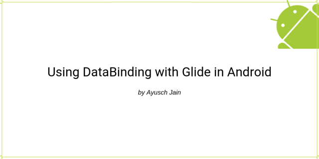 databinding with glide