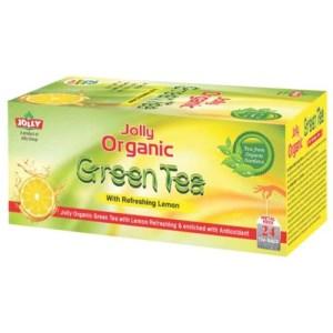 Jolly green tea