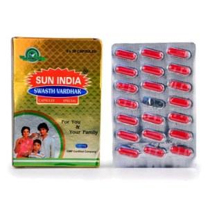 Sun india swasth vardhak capsule