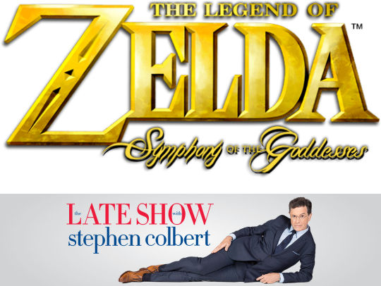 The Legend of Zelda: Symphony of the Goddesses on The Late Show with Stephen Colbert - October 13th, 2015