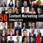 The Original List: 50 Content Marketing Influencers and Experts to Follow into 2019