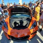 2020 C8 Corvette Convertible at South OC Cars & Coffee