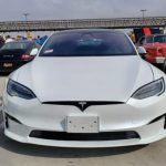Tesla Model S Plaid at South OC Cars and Coffee