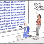 Meeting or email? Marketoon of the Week