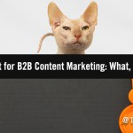 Social First for B2B Content Marketing: What, Why and How