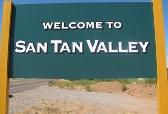 Welcome to San Tan valley.