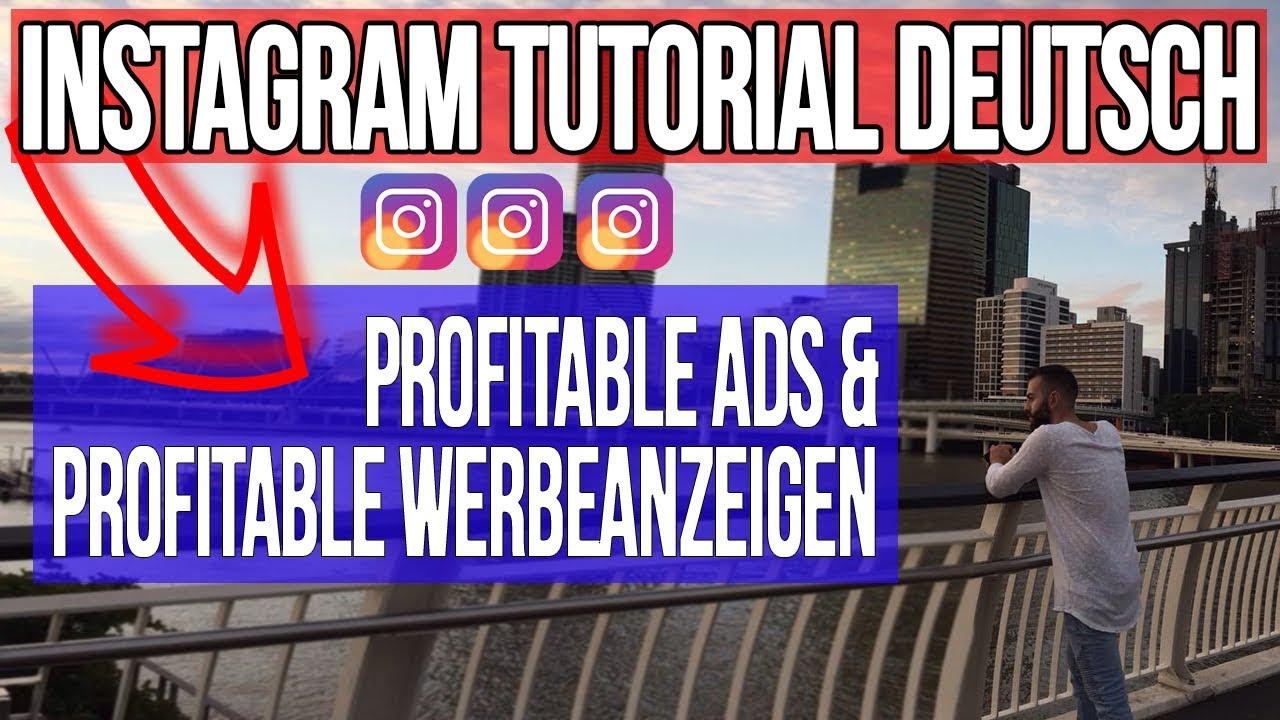 Instagram Tutorial Deutsch